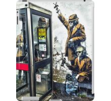 Government listening post by Banksy! iPad Case/Skin