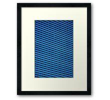 Corporate blues Framed Print