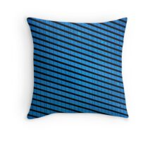 Corporate blues Throw Pillow