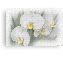۩۞۩ஜஜ۩۞۩¤ Puzzled Flower Picture/Pillow/Tote Bag ۩۞۩ஜஜ۩۞۩¤ Canvas Print
