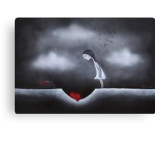 Down in the dumps Canvas Print