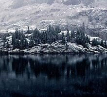 Reflection: The Fjords of Norway by katrina-marie