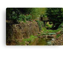 Stringers Creek, Right Hand Branch, Walhalla Canvas Print