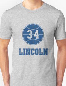 JESUS SHUTTLESWORTH 34 LINCOLN HIGH SCHOOL BASKETBALL Unisex T-Shirt