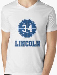 JESUS SHUTTLESWORTH 34 LINCOLN HIGH SCHOOL BASKETBALL Mens V-Neck T-Shirt