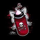 Baby Bottle O Blood by Miss Cherry  Martini