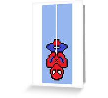 8bit Spidey Greeting Card