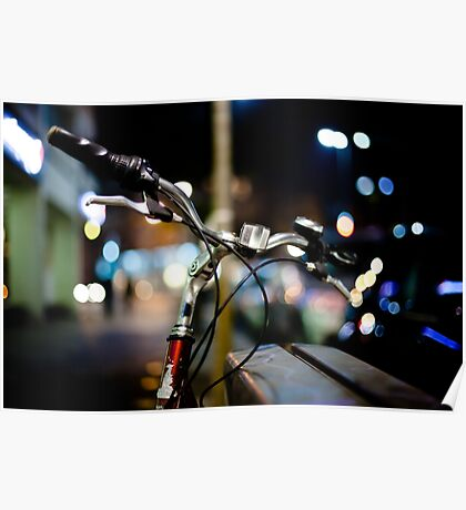 bicycle@night Poster