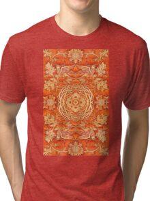 - Golden pattern - Tri-blend T-Shirt