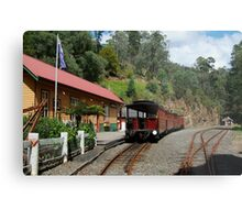 Walhalla Railway Station,Stringers Creek Gorge Metal Print