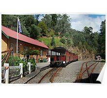 Walhalla Railway Station,Stringers Creek Gorge Poster