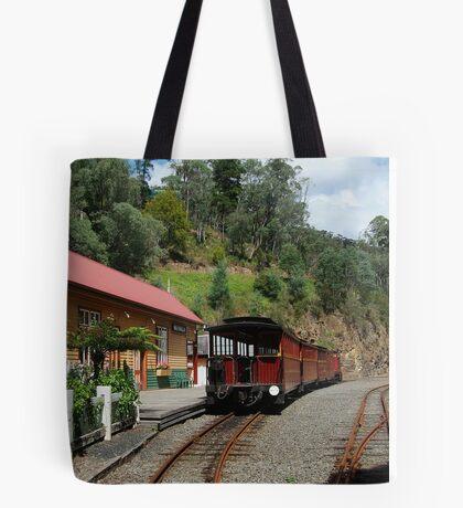 Walhalla Railway Station,Stringers Creek Gorge Tote Bag