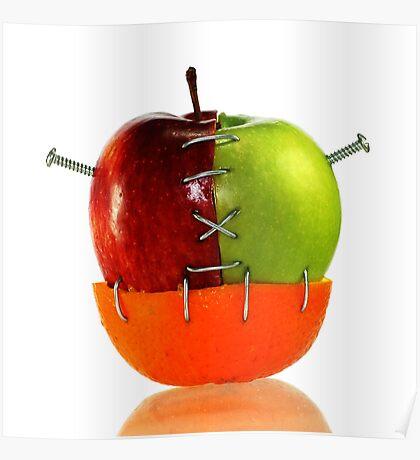 Franken_Fruit Poster