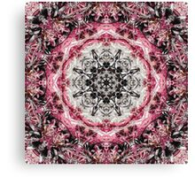 Pink Fractured Canvas Print