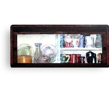 The Cabinet Canvas Print