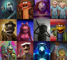 Muppet Maniacs Series 1 by GrimbyBECK