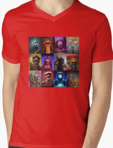 Muppet Maniacs Series 1 Mens V-Neck T-Shirt