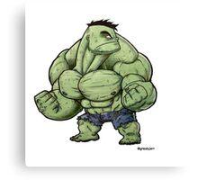 Heavy Hulk Canvas Print