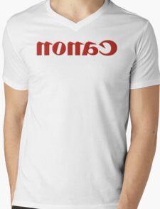 Nonac/Canon Plastic Mirror Mens V-Neck T-Shirt