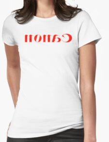 Nonac/Canon Halftone Mirror Womens Fitted T-Shirt