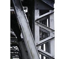 Abstract Crane Photographic Print