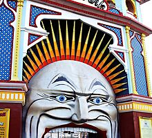 Luna Park Mouth by Esther Frieda