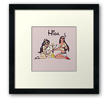 Princess High Framed Print