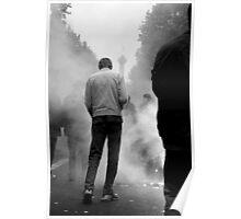 Manifestant vers la place de la Bastille, Paris Poster
