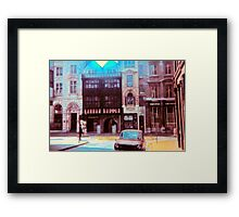 Vintage London 1973 Framed Print