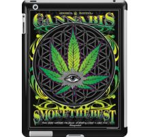 Cannabis , Smoke the Best iPad Case/Skin