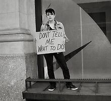Don't Tell Me What To Do by Beth Achenbach