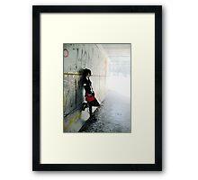 Urbanese Framed Print