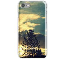 Sunset In The Suburb iPhone Case/Skin