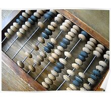 Abacus. Poster