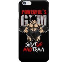 shut up and train iPhone Case/Skin