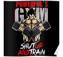 shut up and train Poster