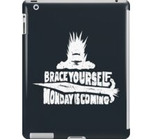 Monday is Coming (Game of Thrones) (White) iPad Case/Skin