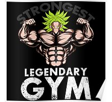 legendary's gym Poster
