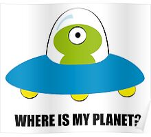 Where is my Planet? Poster