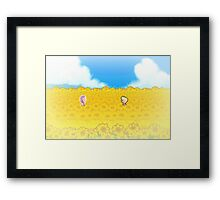 Sunflower Fields - Mother 3 Framed Print