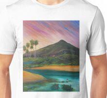 Yacaaba Headland Turtle Beach by Sheridon Rayment  Unisex T-Shirt