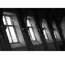 Windows of hall - St Johns Asylum Photographic Print
