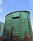 Rusting, peeling rolling stock by buttonpresser