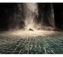 Lord of the Rings Waterfall Photographic Print