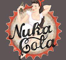 Nuka Cola Logo by Jamie Stryker