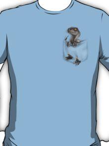 Pocket Protector - Female Raptor T-Shirt