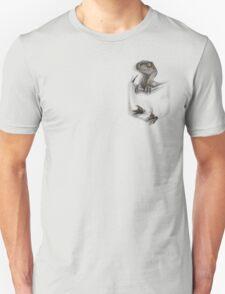 Pocket Protector - Female Raptor Unisex T-Shirt