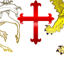 Coat of arms - Luceat lux vestra Sticker