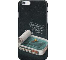 Gone Fishin' iPhone Case/Skin