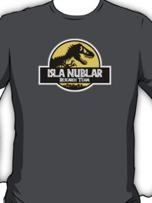 Isla Nublar Research Team T-Shirt